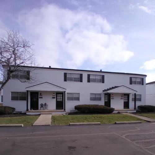 Exterior of Andrus Court Apartments in Columbus, Ohio