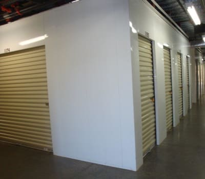 Climate controlled storage units in Prescott Valley