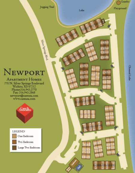Northwest Wichita 1 & 2 Bedroom Luxury Apartments for Rent