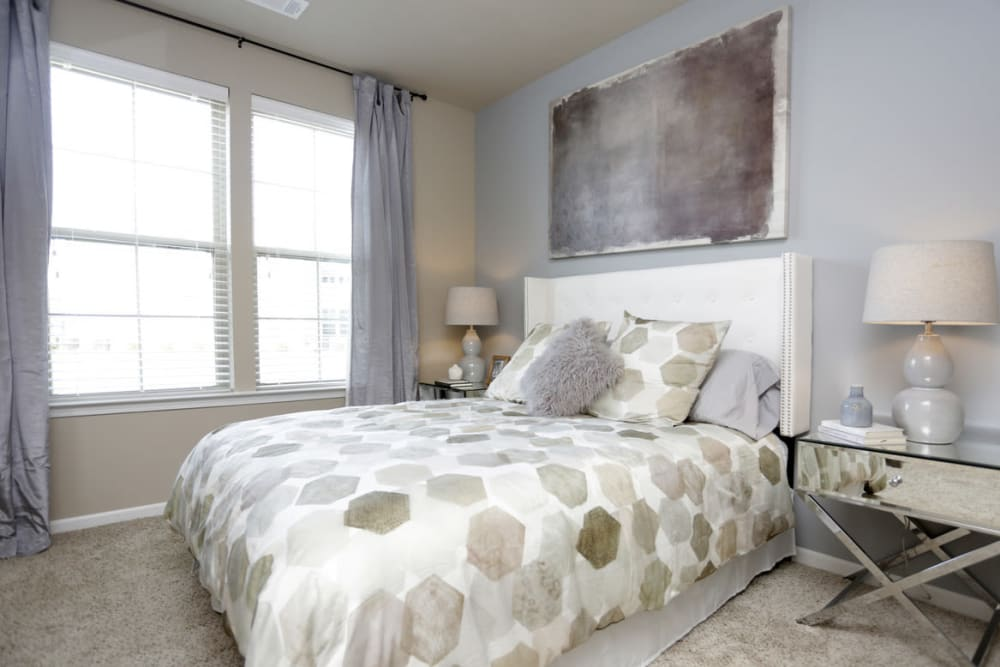 Large Bedroom Suite at  Springs at Kenosha Apartments in Kenosha