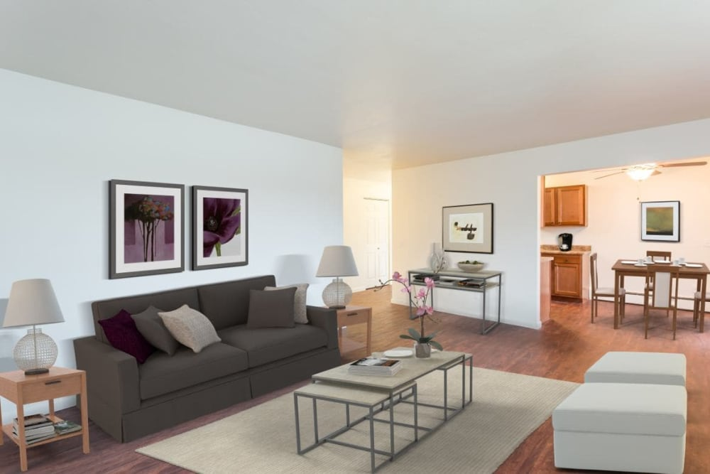 Beautifully designed floor plans for your comfort at Wedgewood West home