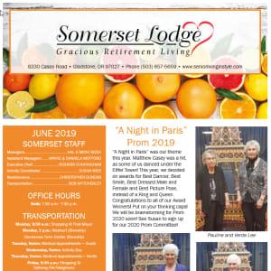 June Somerset Lodge Newsletter