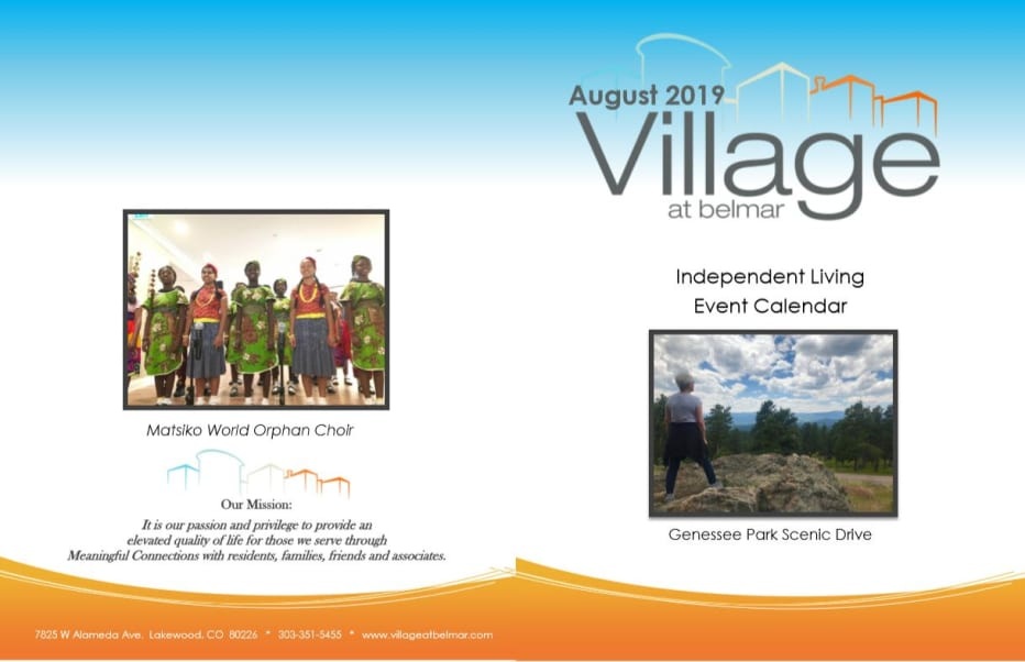 Learn more about our independent living events at Village at Belmar