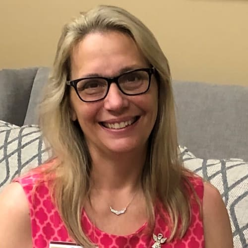 Laurie VanDuyne, Director of Operations of Keystone Place at Wooster Heights in Danbury, Connecticut