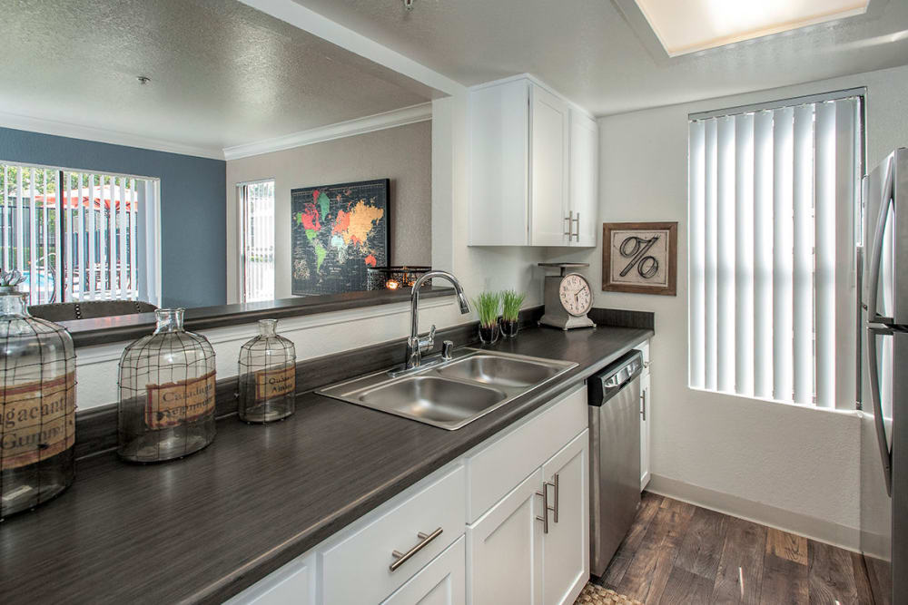 Luxury kitchen at Sandpiper Village Apartment Homes in Vacaville, California