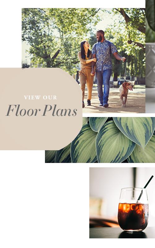 View floor plans at The Barrett in Marietta, Georgia