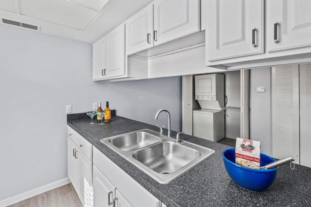 Beautiful stainless-steel appliances in the kitchen at WestEnd At 76Ten in Tampa, Florida