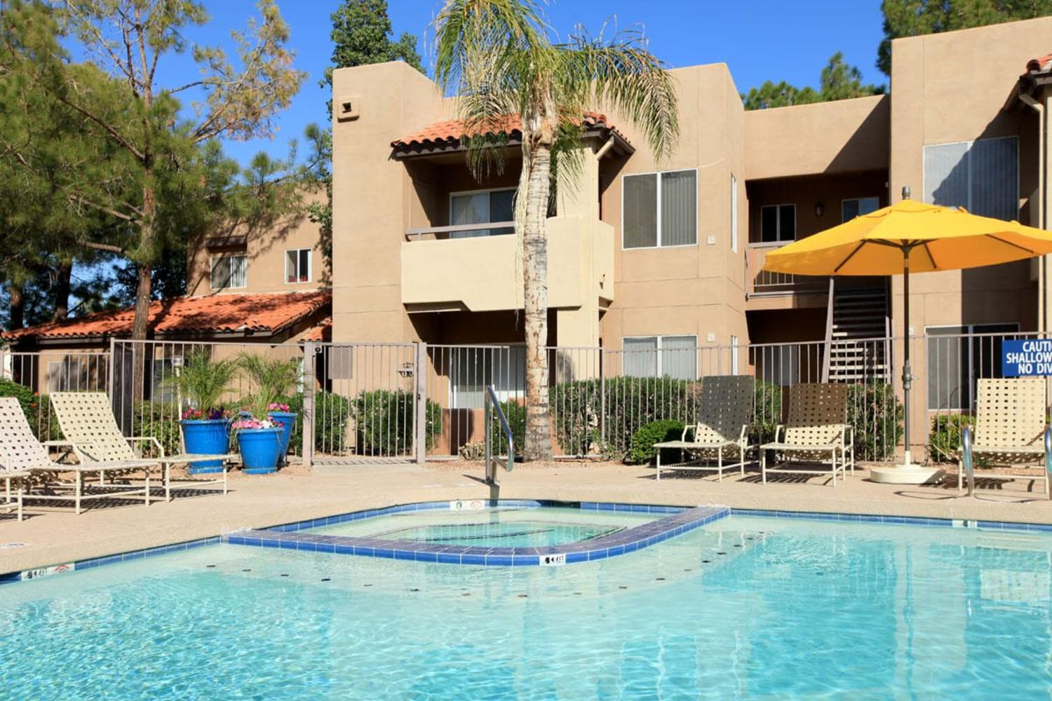 Pool with spa at Alcove at the Islands in Gilbert, Arizona