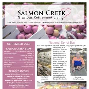September Salmon Creek Newsletter