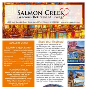 January Salmon Creek Newsletter