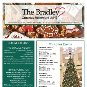 December The Bradley Gracious Retirement Living newsletter