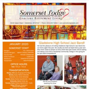 January Somerset Lodge Newsletter