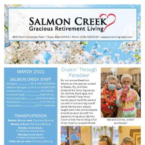 March Salmon Creek newsletter