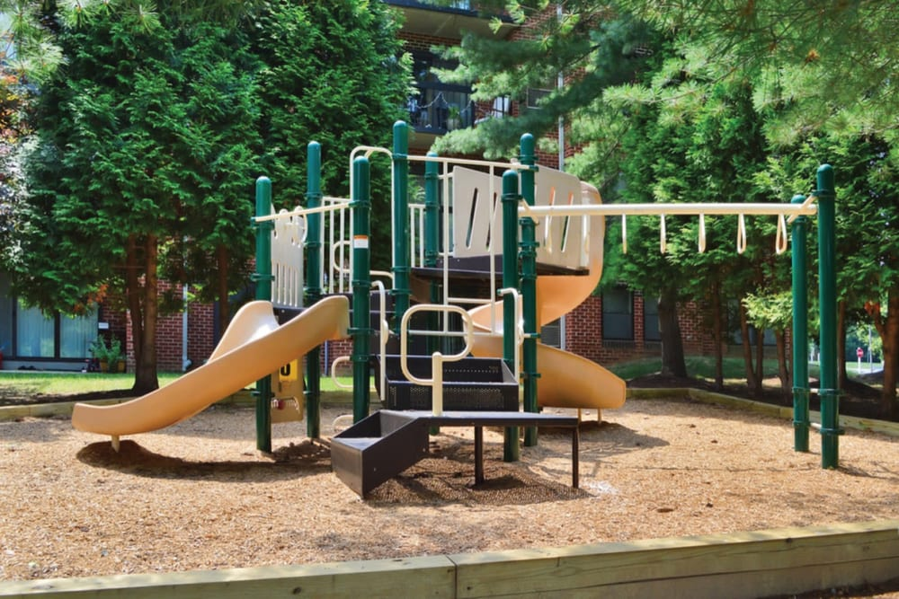 Playground at Tamarron Apartment Homes in Olney, Maryland