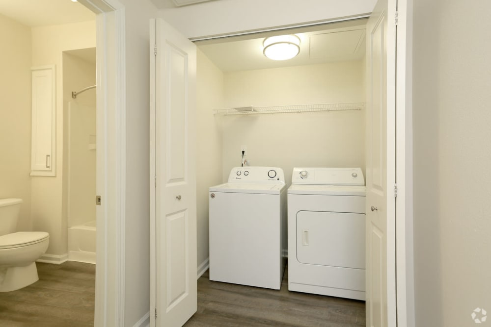 Laundry room at Park Central in Concord, California