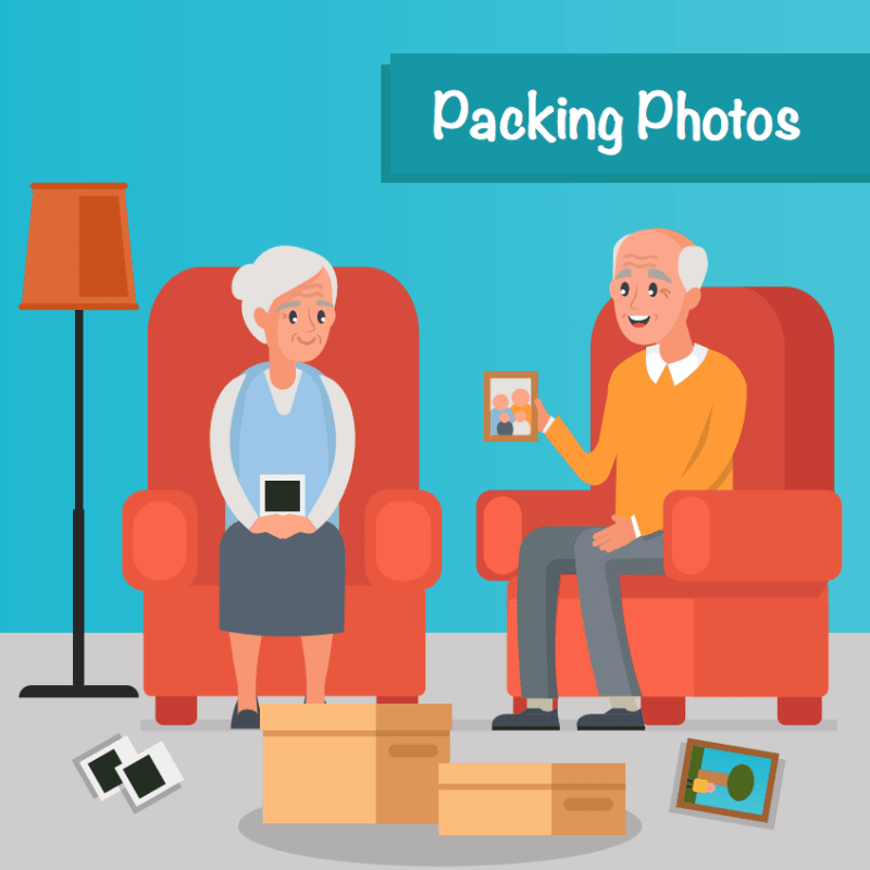 Storage Tips Packing Photos at Smart Self Storage in Van Nuys, CA