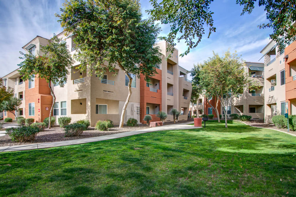 Exterior at Sage Luxury Apartment Homes in Phoenix, Arizona