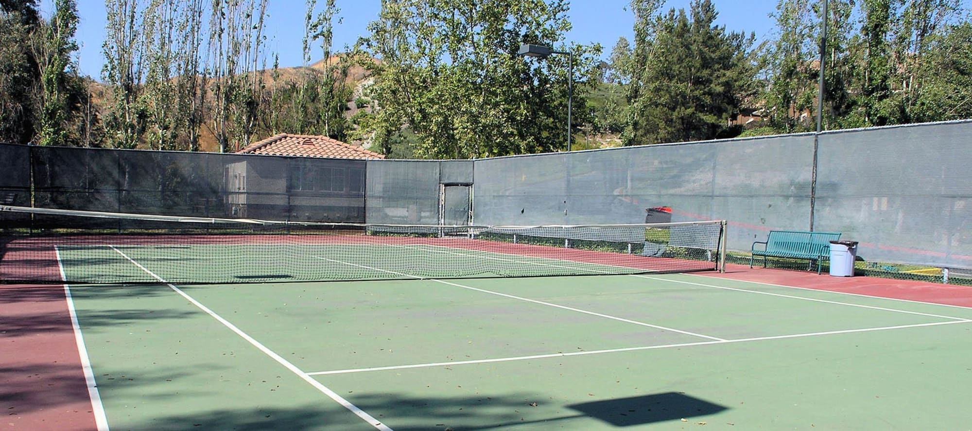 Tennis Courts at Paloma Summit Condominium Rentals in Foothill Ranch, California