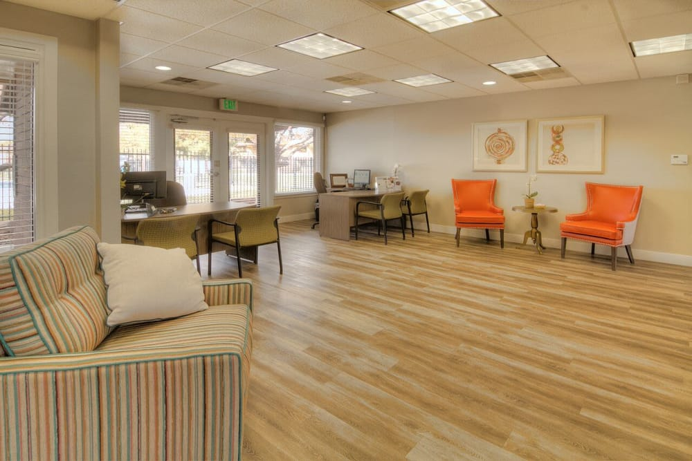 Community Clubhouse At Wasatch Club Apartments