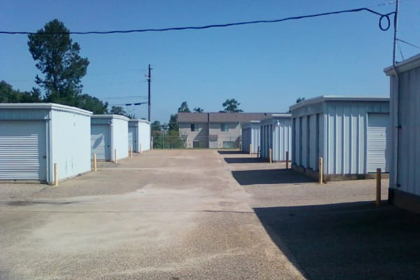 Storage units at Denton Road Mini Storage in Dothan, Alabama near Denton Road Mini Storage