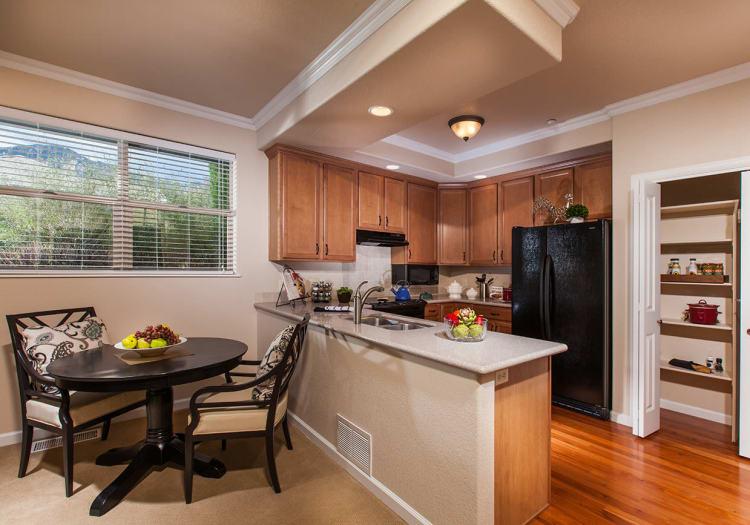 Kitchen at The Palisades at Broadmoor Park in Colorado Springs, Colorado