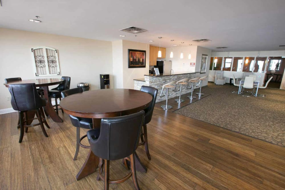 Community room in our Cleveland, Ohio apartments