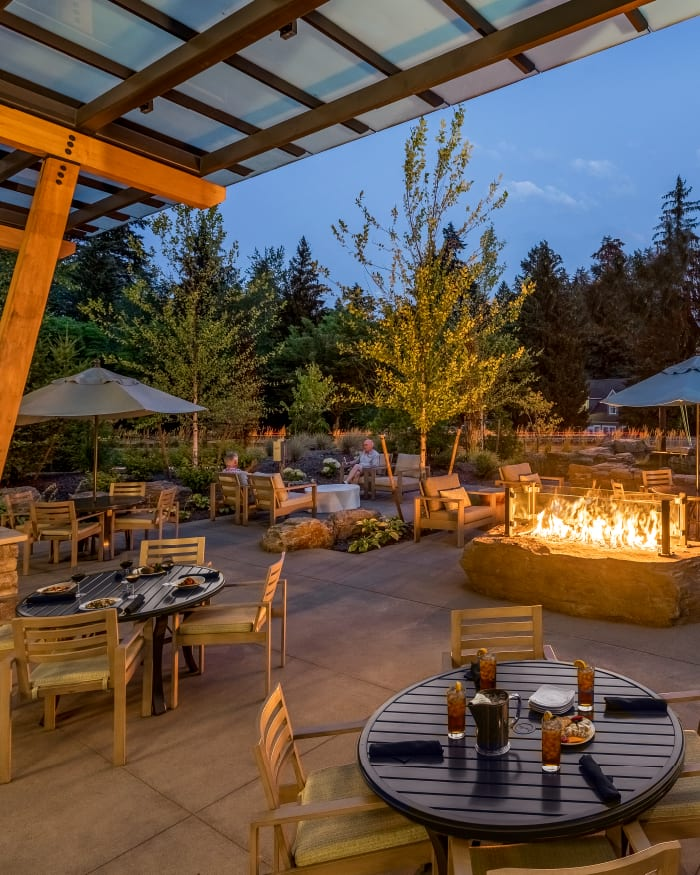 Rooftop Bar at The Springs at Lake Oswego in Lake Oswego, Oregon