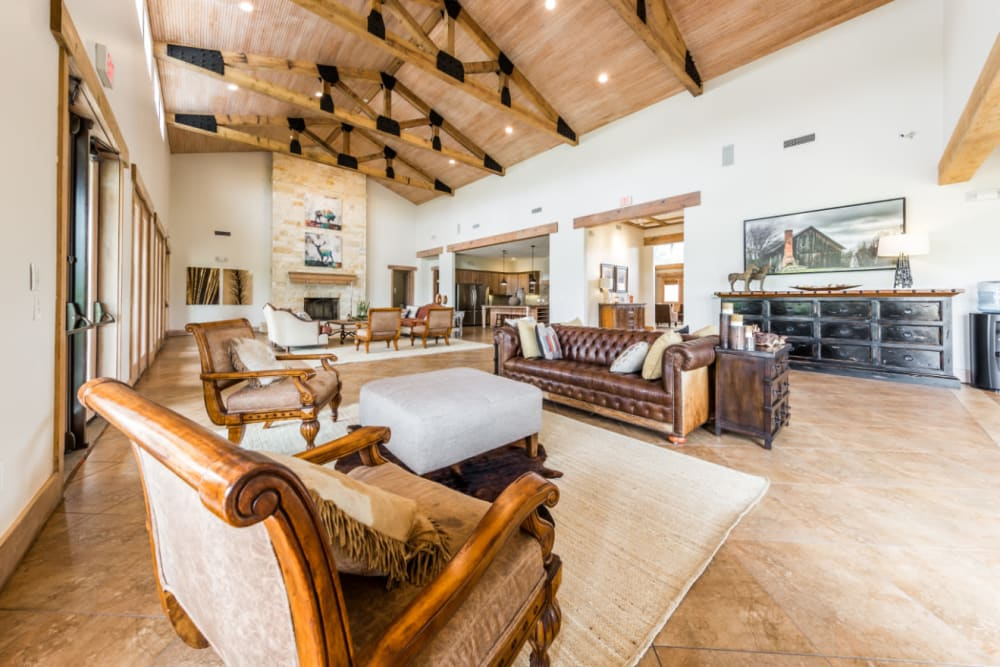 Clubhouse at Marquis at Canyon Ridge in Austin, Texas