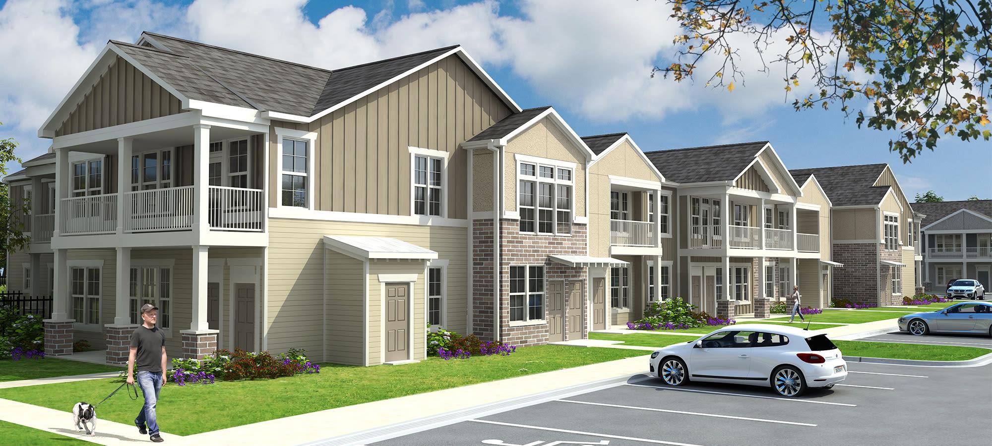 Apartments at Springs at La Grange in Louisville, Kentucky.