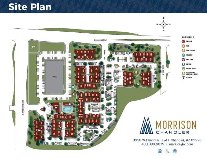 Morrison Chandler site plan