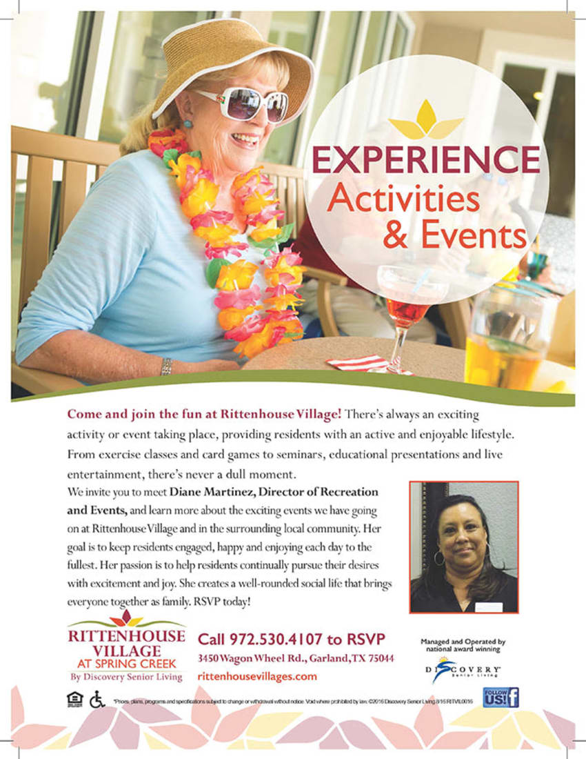 Experience activities and events at Discovery Commons At Spring Creek in Garland, Texas