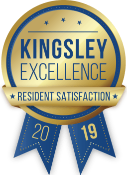 Alvadora Apartments in Lawrence, Kansas received a Kingsley Excellence Residents Satisfaction 2019 award
