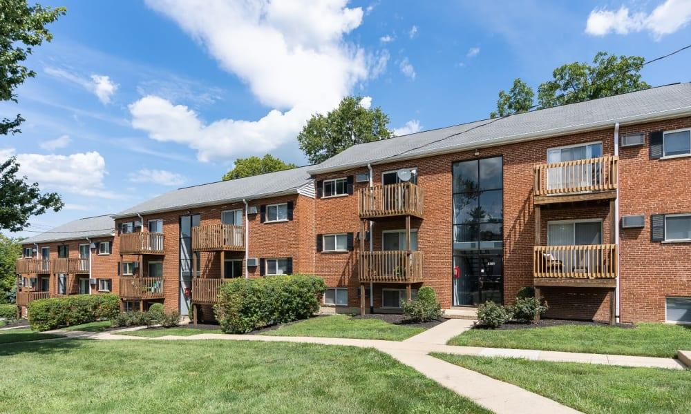 Apartment homes at Centennial Woods Apartments in Cincinnati, Ohio