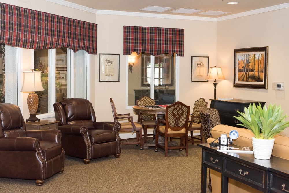 Living Area Cardinal Court Alzheimer's Special Care Center