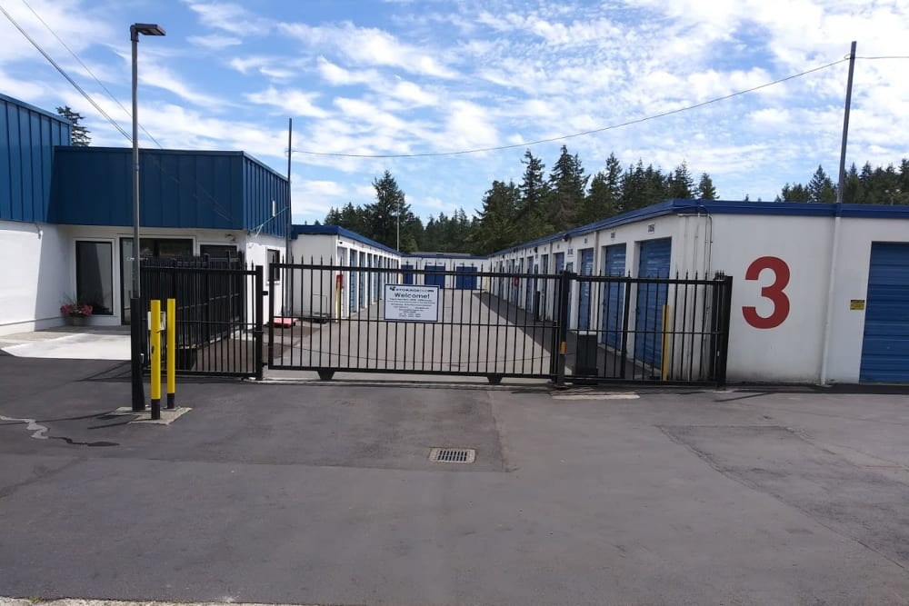 Front Entrance Gate at Storage Etc... Lakewood