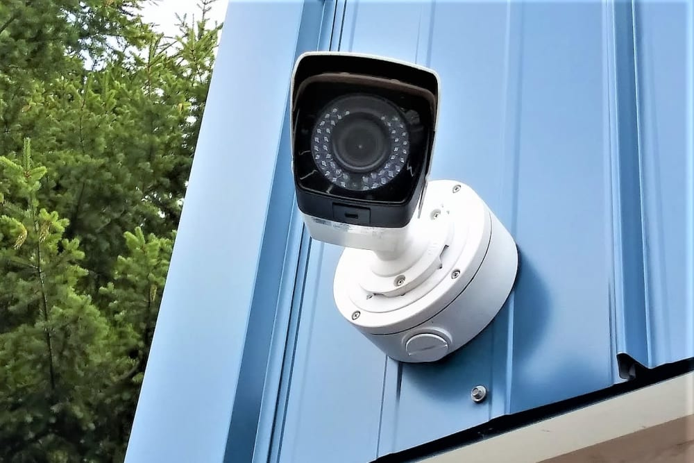 Security Camera at Storage Etc... Lakewood