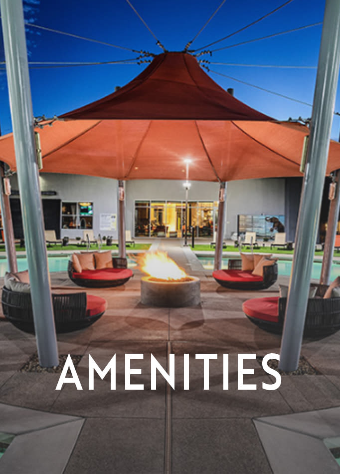 Amenities at Zerzura Apartments
