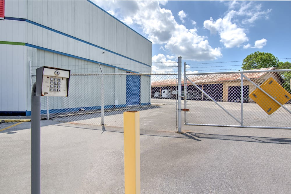 Gated entrance at Prime Storage in Kingsport, Tennessee