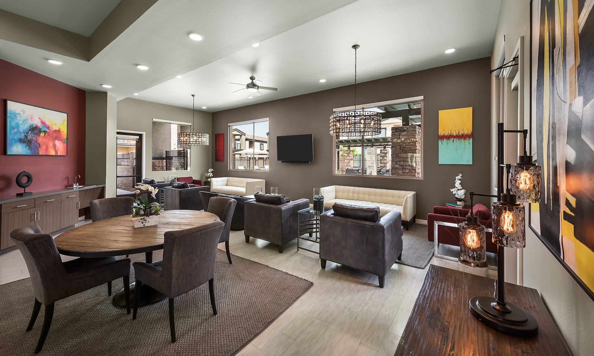 Clubhouse  at The Maxx 159 in Goodyear, Arizona