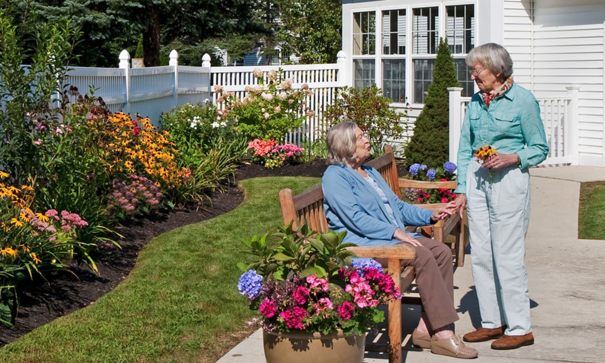 Senior living at Wheelock Terrace in Hanover, New Hampshire