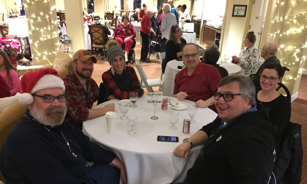 Holiday Dinner Service at Woodside Senior Living in Springfield, Oregon