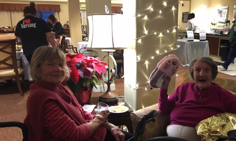 Holiday Celebration at Woodside Senior Living in Springfield, Oregon