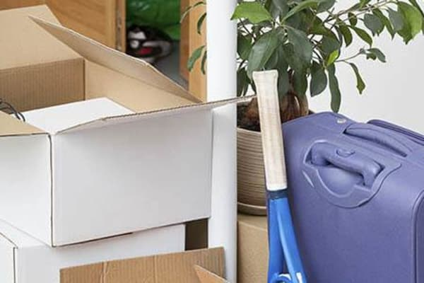 Moving boxes available at Crown Self Storage in N Las Vegas, Nevada