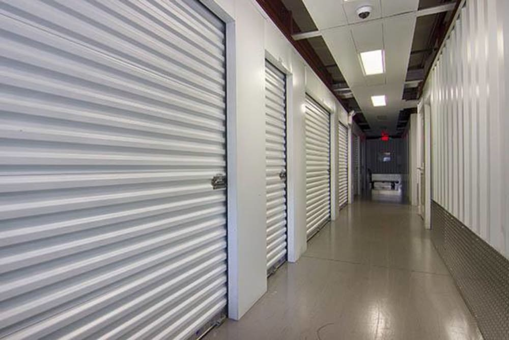 Indoor units at Metro Self Storage in Riverview, FL