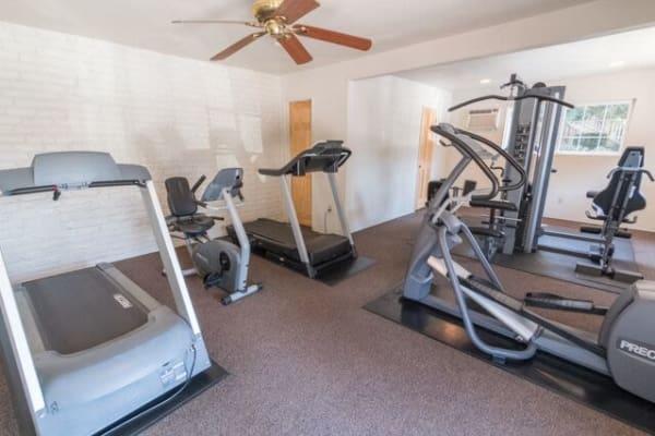 Modern Fitness Center at Sunset Village in West Sacramento, CA