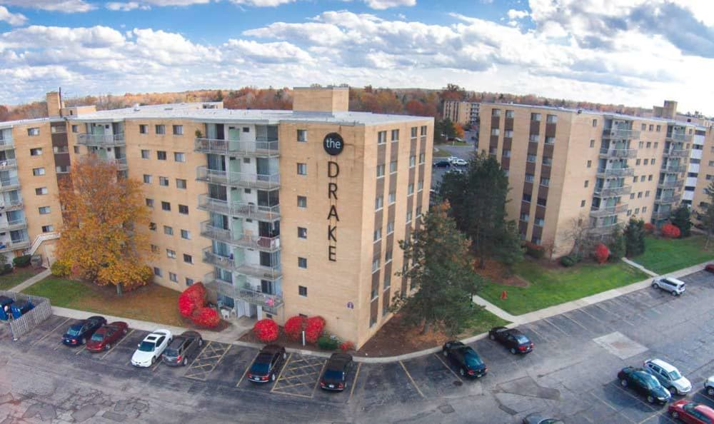 Apartments Exterior at Mayfield Heights, OH