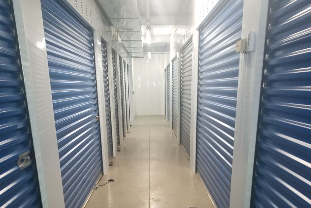 Indoor storage units at Store It All Self Storage - Barre in Barre, Vermont