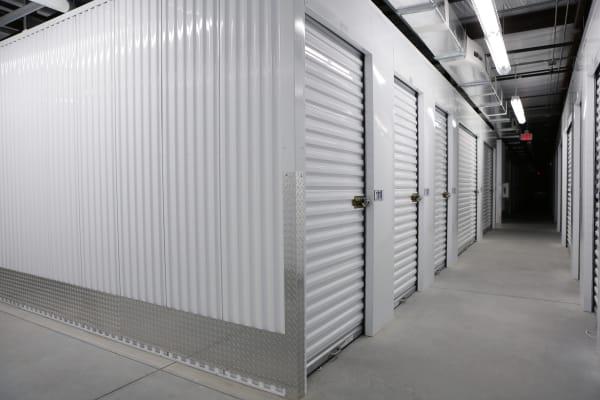Interior storage units at Midgard Self Storage in Bradenton, Florida