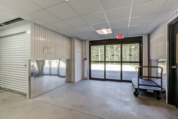 Lobby at Kittery Storage Solutions