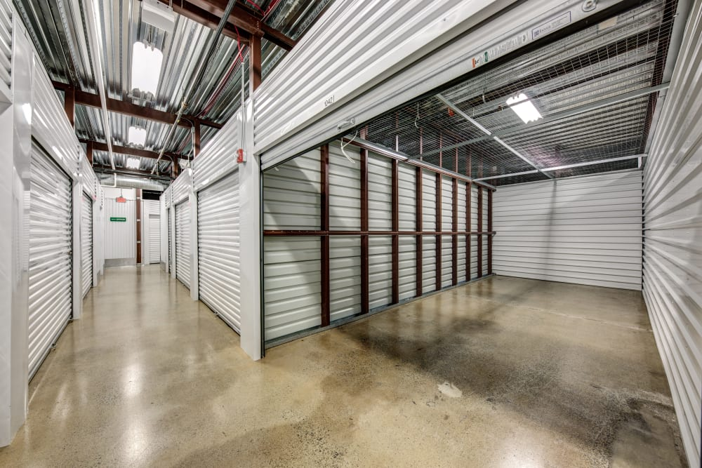 Open spacious unit at Metro Self Storage in Springfield, New Jersey